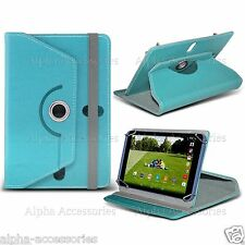 Universal Tablet Folio 360° Leather Case Cover For 7 Inch Tab Android Tablets PC