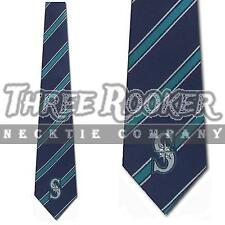 Mariners Necktie Mens Licensed Seattle Mariners Ties NWT FREE SHIPPING
