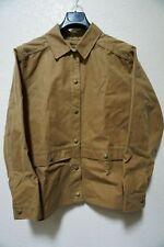 MINT | FILSON WAXED MEDIUM GUIDE JACKET TAN MADE IN USA FIELD TIN CLOTH