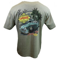 Big Daddy's Garage Men's T-shirt - Parts Accessories Ocean Side - Bahama Beach