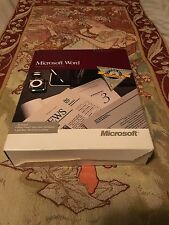 Microsoft Word Apple Macintosh series  1989
