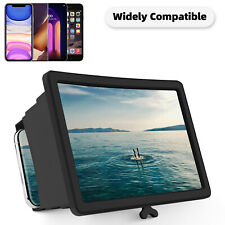 3D HD Mobile Cell Phone Magnifier Screen Amplifier Video Bracket Stand Portable