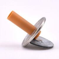 Cigarettes Through/Thru Coins (Half Dollar Version) Magic Tricks Accessories Fun