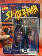 Spider-Man Marvel Legends Retro Collection ~ PETER PARKER ~ IN HAND ~ SHIP NOW