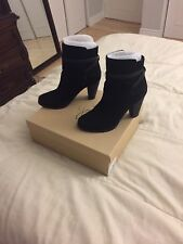 Joie Women's Black Suede Rigby Boot Size 39.5