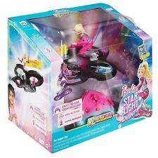 Barbie Star Light Adventure DLV45 Doll & Flying RC Remote Control Hoverboard Toy