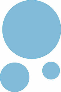 36 Spots Bubbles Surf Car/Van/Wall//Play Room Vinyl Stickers/Decals Any Colour