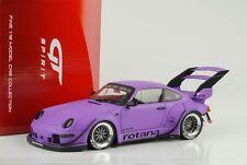 Porsche 911 993 RWB Rotana Pourpre 1:18 GT Spirit GT737
