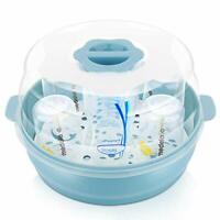GOLOHO Baby Bottle Microwave Steam Steriliser - Fit 6 Baby Bottles