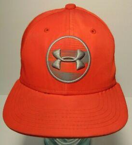 YOUTH SIZED Red Gray Grey UNDER ARMOUR FLAT BILL BASEBALL SKATEBOARD HAT CAP