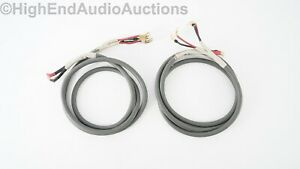 Monster Cable MI-4S Bi-Wire Speaker Cable - M-Series - 8 Foot PAIR - Spades