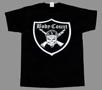 BODY COUNT SYNDICATE BLACK T SHIRT ICE-T NEW BLACK SHORT/LONG SLEEVE T-SHIRT