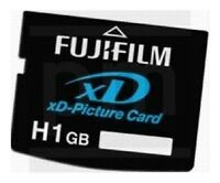 Original Fujifilm 1GB type H XD Picture Card for Olympus and Fujifilm Camera