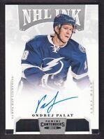 2013-14 Panini Contenders NHL Ink #I-OP Ondrej Palat Auto Tampa Bay Lightning
