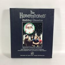 The HONEYMOONERS Holiday Classics Special 1987 Ltd Ed 2 VHS Boxed Set Christmas