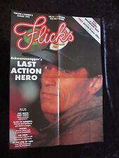 Last Action Hero movie poster - Arnold Schwarzenegger poster
