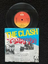 "The Clash-TOMMY GUN/1-2 crush on you 7"" vinyl pic manche CBS S 6788 (1978)"