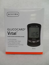 Glucocard Arkray Vital Diabetic Meter Monitor Kit.1852-00. *NEW*  *Free Ship*