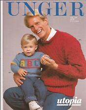 Kid's Sweater & Cardi + Men's Sweaters Unger Vol 397 Knitting & Crochet Patterns