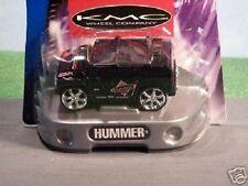 Hot Wheels ~ Hot Tunerz ~ 2004 Hummer H2 SUV ~ KMC ~Blk