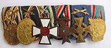 Grandes 6er SPAnge de un veteranos con tapas otomano insignia