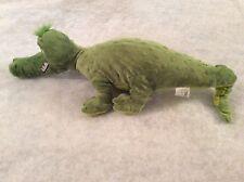 "Dr. Seuss Green Alligator Gator ABC Plush Kohl's Cares 20"" 2013"