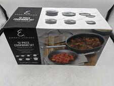 Open Box Emeril Lagasse 6290 Hard Anodized 12-Piece Cookware Set -J7129