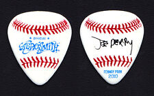 Aerosmith Joe Perry Signature Fenway Park Baseball Guitar Pick - 2010 Tour