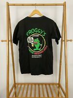 VTG Froggy's Famous Watering Hole Saloon Single Stitch Pocket Front T-Shirt XL