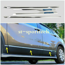 FOR Buick Envision 2019 2020 Stainless  Chrome Car Body Door Side Molding Trim*6