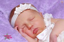Princess-Dreams 158 Baby Glitzer Haarband rosa Taufe Blume Fotografie Prop
