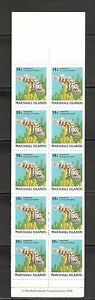 Marshall Islands SC # 170a Fish. Complete Booklet.MNH