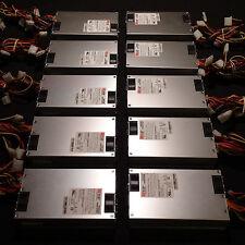 LOT - 10 Top Microsystems 1U 350 Watt Switching Server Power Supplies