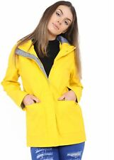 New Womens Lightweight Rain Trench Coat Jacket Parka Daily Rain Mac