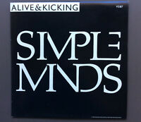 "SIMPLE MINDS - Alive & Kicking 7"" Vinyl Single Record VG 1985 Aussie Pressing"