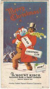 Christmas Club Holiday Mount Kisco New York Bank & Trust Advertising Blotter