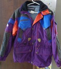 Men's SPYDER ski jacket 1997 US Ski Team Purple sz M Thinsulate Name on tag PreO
