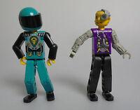 LEGO® Technic 2x Figuren Männer Rennfahrer Techniker verschiedene Farben 8257