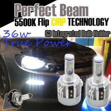 VW SCIROCCO H7 G3 CSP Bianco LED HEADLIGHT Bulbs KIT 7600 Lumen CANBUS 72W Golf