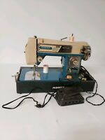 Morse Zig Zag Sewing Machine Vintage Heavy Duty