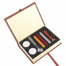 Classic Wax Seal Stamp Kit Sealing Wax Invitation DIY Gift Box for Harry Potter