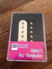 Seymour Duncan Alnico II Pro Humbucker Bridge Pickup Zebra  APH-1B (11104-05-z)