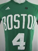 Boston Celtics NBA Men's#4 Isaiah Thomas Green Short Sleeve Adidas Ultimate Tee