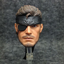 Custom hot 1/6 Scale Head Sculpt Old Snake Metal Gear Solid toys