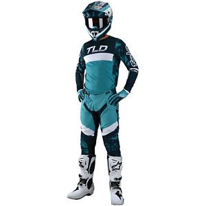 Troy Lee Designs Gear Combo Set TLD MX Motocross Gear SE PRO Pants Jersey MARINE