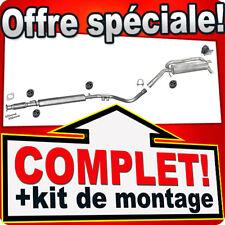 Echappement FIAT STILO 1.8 16V 98KW 133CH BREAK 2003-2008 Silencieux 998