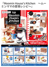 Miniatures Moomin House's Kitchen Box Set - Re-ment    , h#