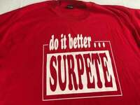 Surpete T-Shirt VTG Mens XL/2XL Do It Better Parco Rinse Aids USA Made Red Tee