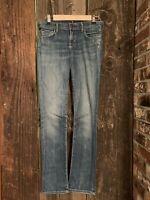 COH Citizens of Humanity Ava Straight Leg Jean in Spectrum Medium Wash - Size 26