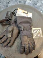 The North Face Mens Small Powdercloud Glove Gortex E-Tip Black $100 Alpine